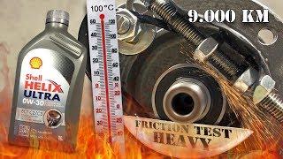 Shell Helix Ultra ECT C2/C3 0W30 Jak skutecznie olej chroni silnik? 100°C