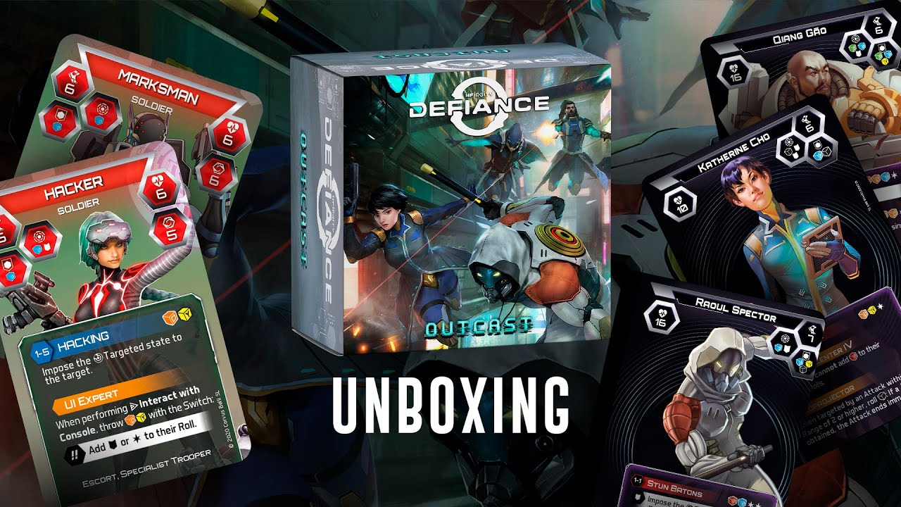 [Studio Update] Special edition: Infinity Defiance - Outcast unboxing