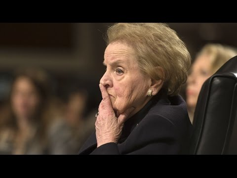 Professors, students to boycott Madeline Albright's speech at college graduation