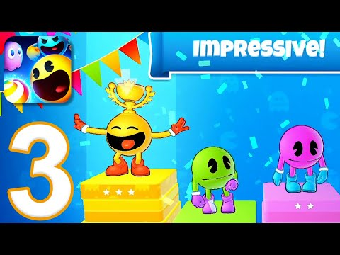 PAC-MAN Party Royale - Gameplay Walkthrough Part 3 (iOS)