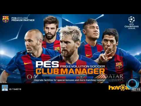 pes club manager apk obb download