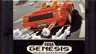 Classic Game Room HD   OUTRUN for Sega Genesis