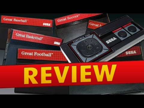 Sega Master System - All Great Sports Games (Review)