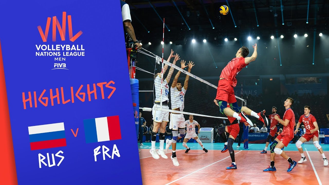Download RUSSIA vs. FRANCE - Highlights Men | Final Round | Volleyball Nations League 2019