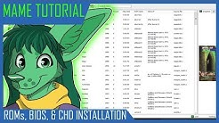 ROM, BIOS, and CHD Tutorial for MAME
