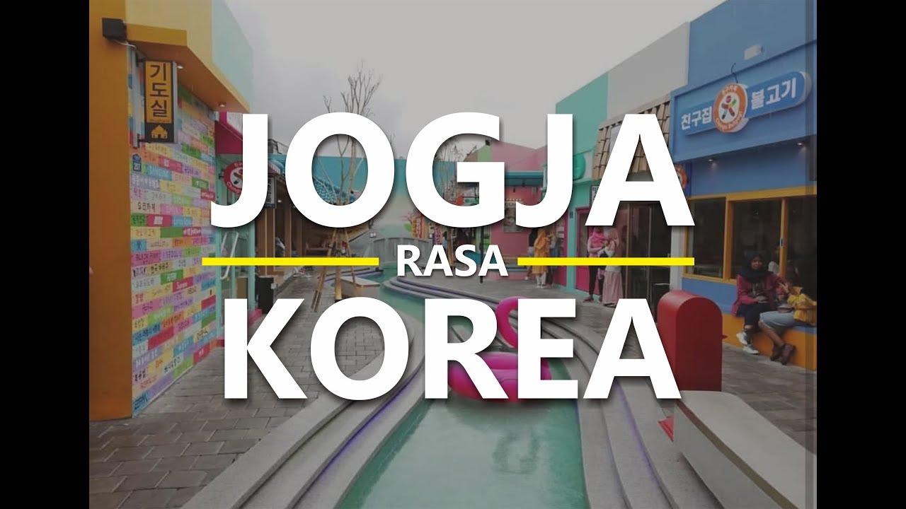 Kuliner Korea Cobain Makanan Korea Yang Hits Di Jogja Youtube