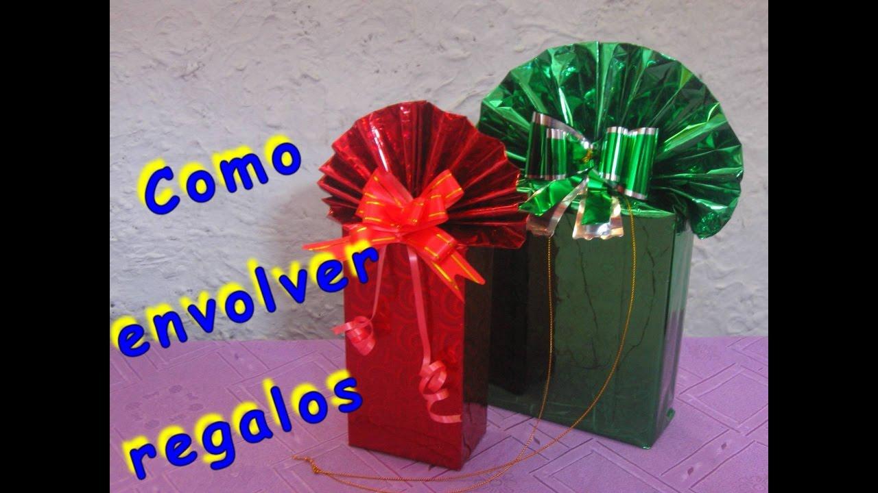 Como envolver regalos de forma original youtube - Envolver regalos de forma original ...