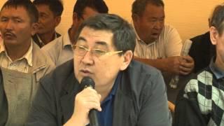 Общественные слушания по вопросу вступления Казахстана в Евразийский экономический союз №9