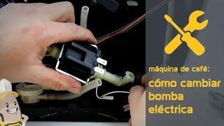 Cómo cambiar la bomba eléctrica de tu máquina de café | Método Esparecambio.es