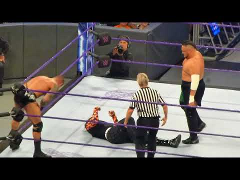 Jeff Hardy and AJ Styles vs Randy Orton and Samoa Joe (Dark Match) at WWE SmackDown Live