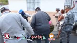 ESPAILLAT.- Varias féminas escenifican un intenso incidente en medio del Toque de Queda en la comunidad Juan López del municipio de Moca. El incidente ...