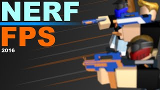 Roblox Nerf FPS EP 1