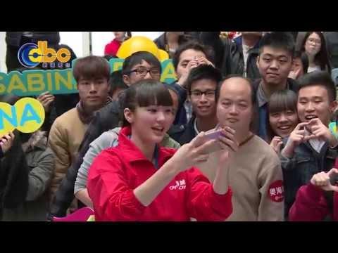 Sabina來了 Sabina Altynbekova in HK