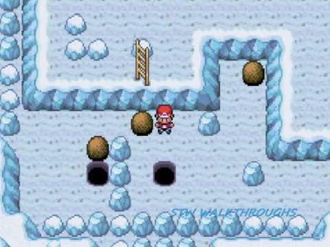 Pokemon fire red walkthrough part 35 seafoam islands and articuno