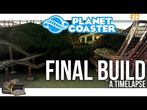 Disaster Coaster time lapse | Planet Coaster #22