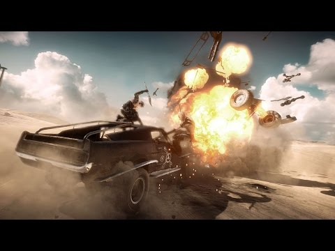 Mad Max Gameplay: This Is How You Kill Cars In Mad Max