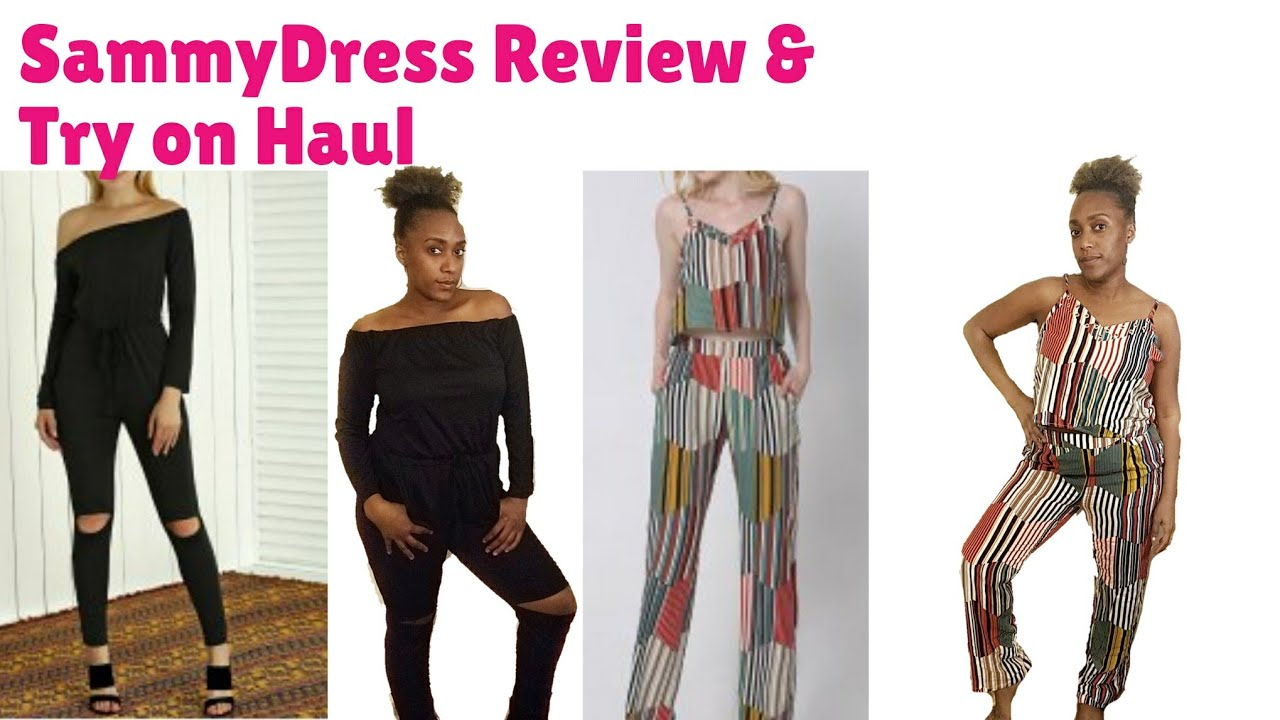 SammyDress.com Unboxing Review And Try On Haul - YouTube 65554b37a