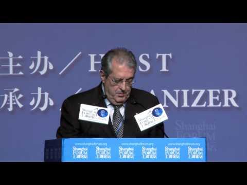 [2015 Shanghai Forum - Keynote Speech ] Fabrizio Saccomanni