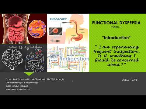 FUNCTIONAL DYSPEPSIA - Introduction