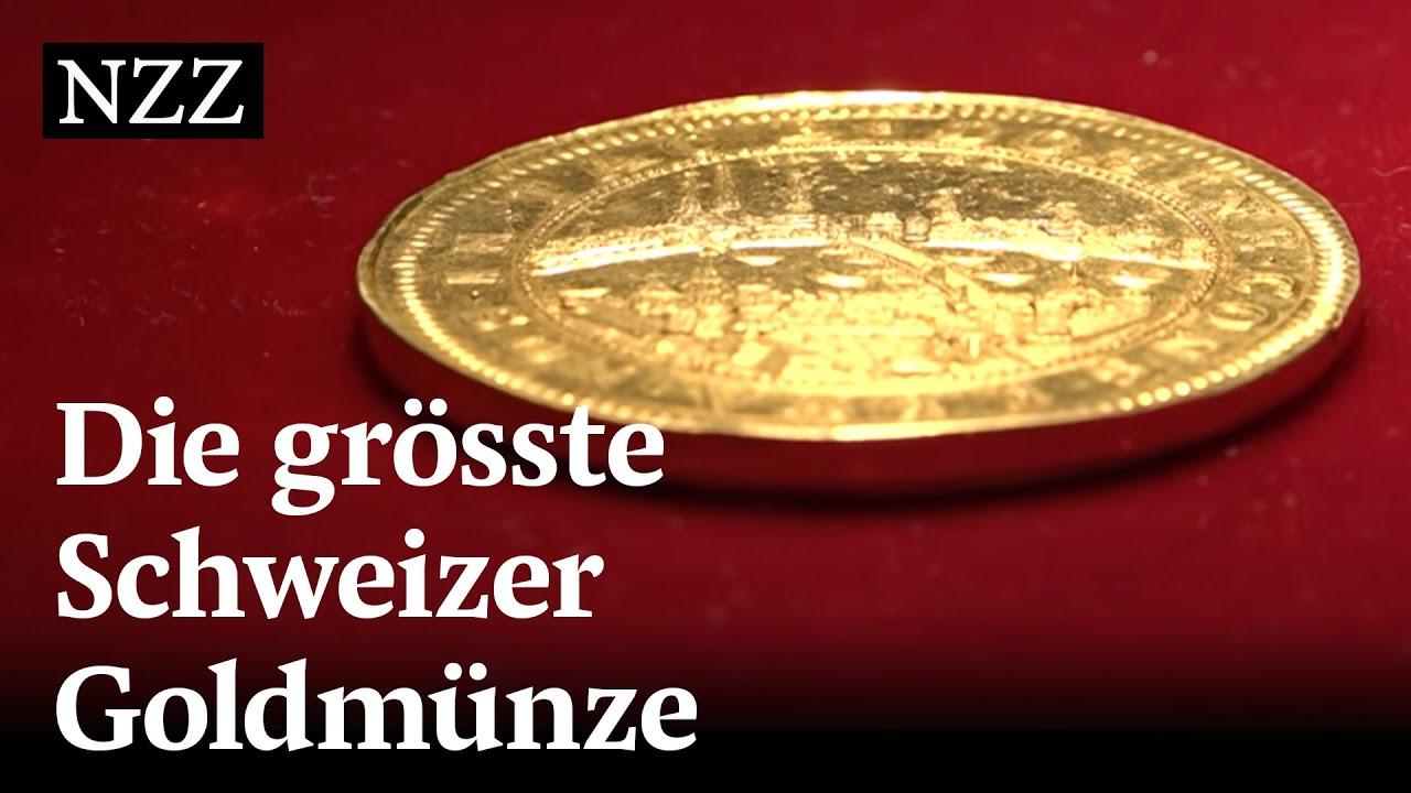 Unter Dem Hammer Die Grösste Schweizer Goldmünze Youtube