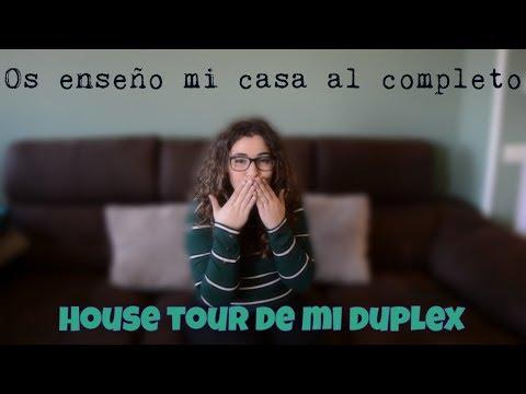 HOUSE TOUR COMPLETO | OS ENSEÑO MI DUPLEX