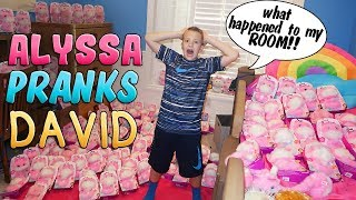 Totally Pink Bedroom Makeover Prank