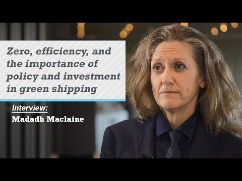 Zero, efficiency, and the importance of policy and investment in green shipping