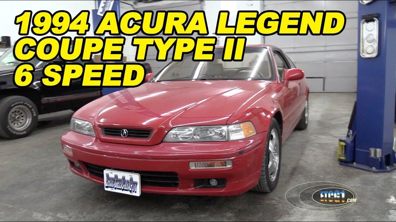 1994 acura legend coupe type ii 6 speed youtube. Black Bedroom Furniture Sets. Home Design Ideas