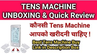 TENS Machine unboxing & Quick Review  , Physio talk Quiz reward , Physiotherapy equipment