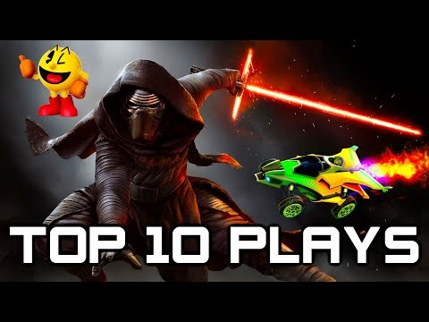 Top 10 Gaming Plays #1 - Fortnite, Battlefront 2, Battlefield 1, Rocket League, CSGO, Overwatch