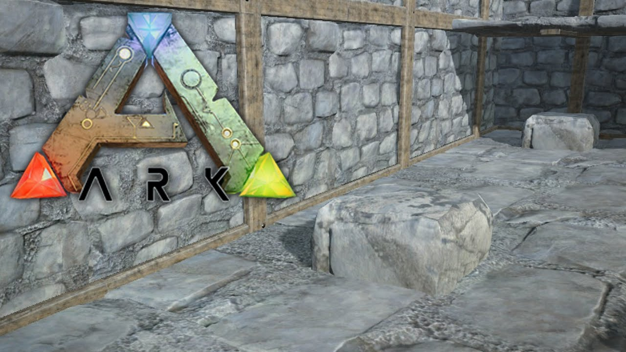 ARK: Survival Evolved -TIPS FOR BUILDING WITH PILLARS AND CEILINGS