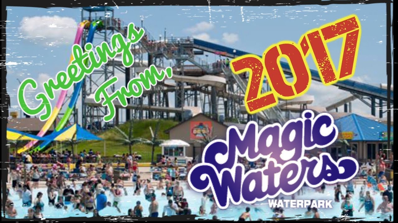 Magic Waters Waterpark Rockford IL 2017 - YouTube