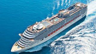 Napoli - Msc Preziosa: 140mila tonnellate di lusso (26.03.13)