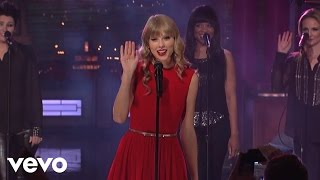 Repeat youtube video Taylor Swift - Love Story (Live from New York City)