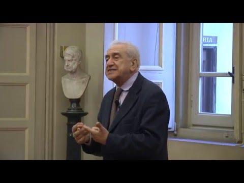 07 Francesco Sabatini, I testi normativi e l'uso prototipico della lingua (2015-2016)