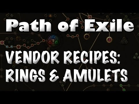 Path of Exile Jewelry Vendor Recipe Resistance Rings & yx