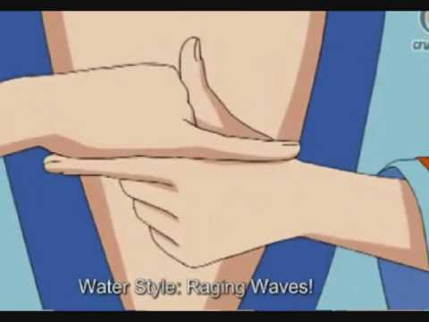 Naruto Jutsu Tutorials Episode 1:Water Style Raging Waves ...