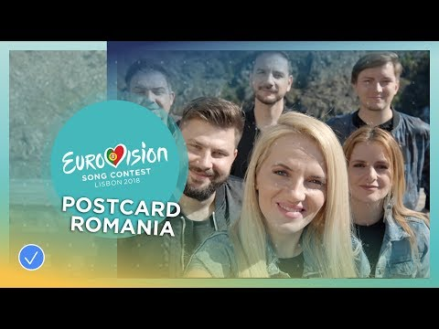 Postcard of The Humans from Romania - Eurovision 2018