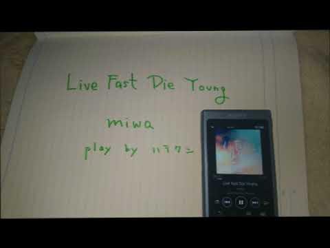 弾いてみました Live Fast Die Young miwaさん by ハラクン