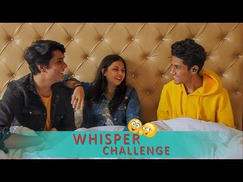 WHISPER CHALLENGE   MAAN   Ft- Rahul Lakhanpal  