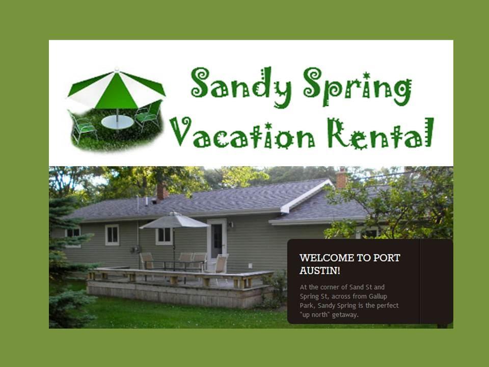Sandy spring vacation rental port austin mi youtube for Porto austin cabin rentals
