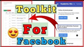 New Toolkit | Toolkit For Facebook 2020 | How to use toolkit on mobile | Technology Rk. screenshot 4