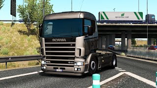 [ETS2 v1.37] Scania 4 Series V8 (non-crackle) Open Pipe FMOD 1.0