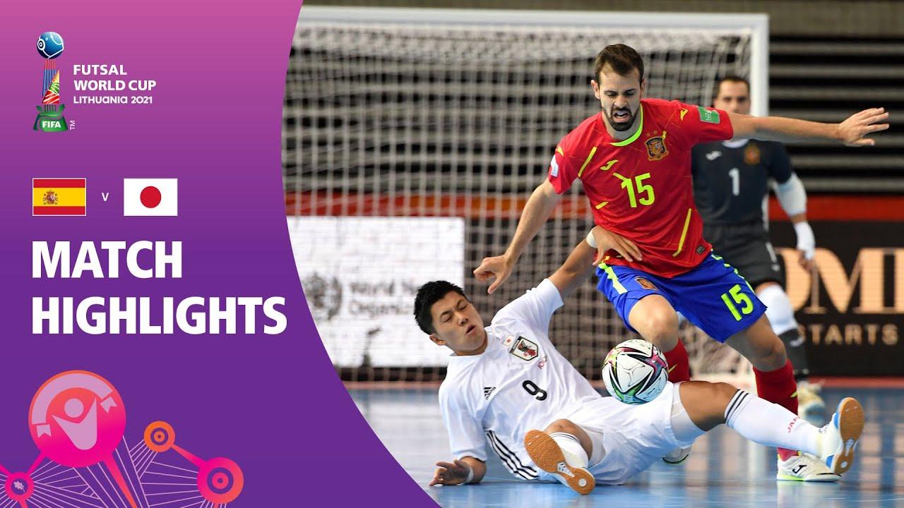 Download Spain v Japan | FIFA Futsal World Cup 2021 | Match Highlights