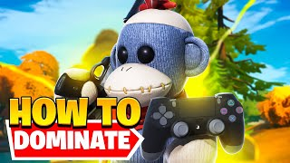 5 Tips to DOMINATE on CONTROLLER (Fortnite Tips & Tricks)