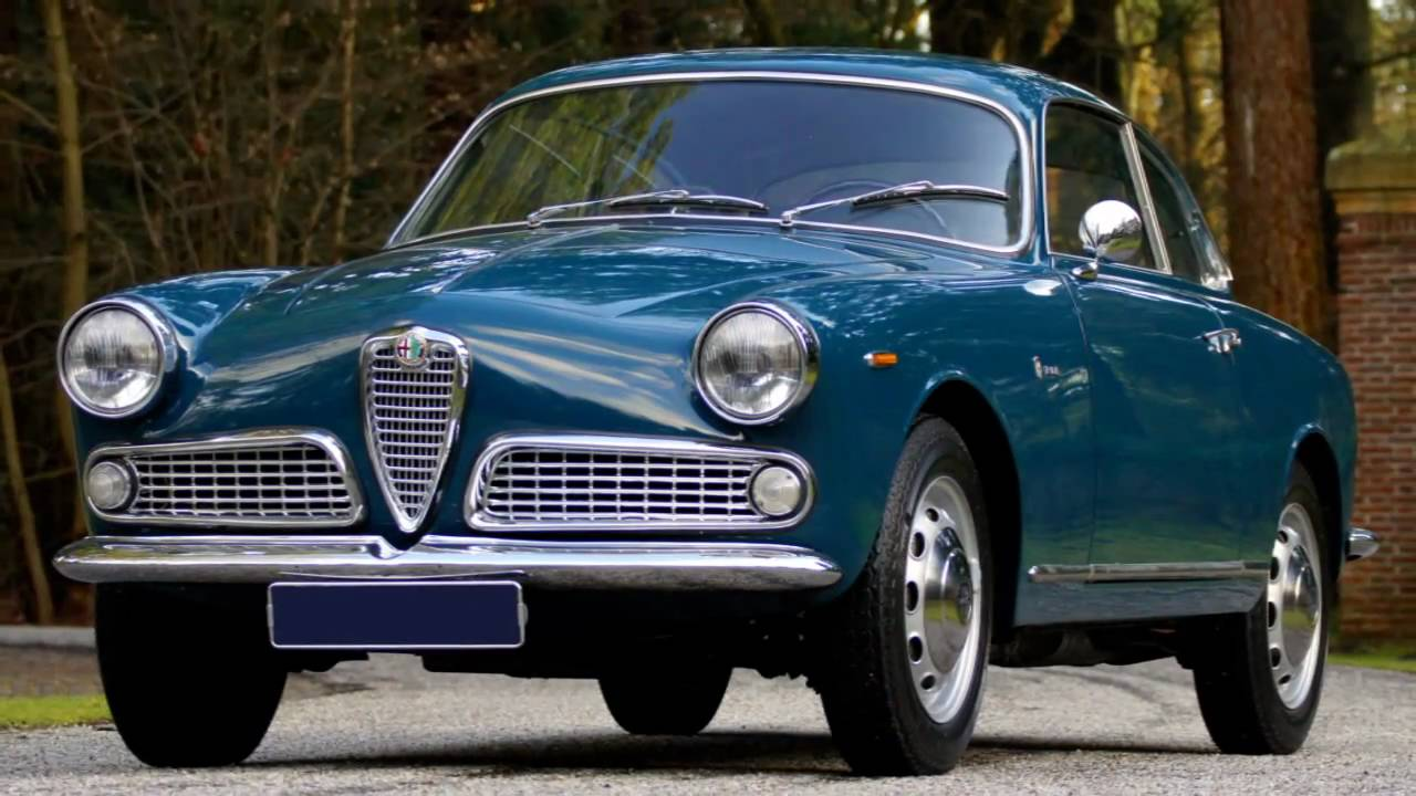 1963 alfa romeo giulia 1600 sprint hd photo video with stereo engine sounds youtube