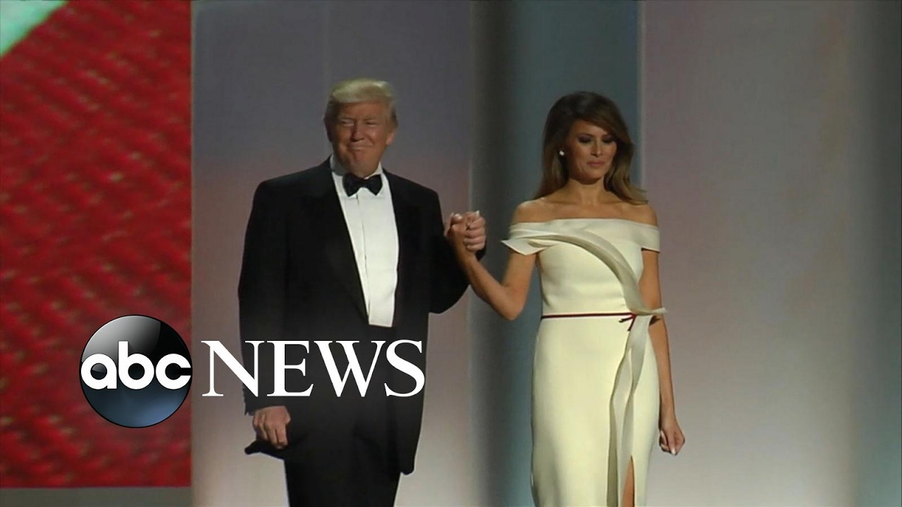 First Ladies\' Inaugural Ball Gowns Through the Years - YouTube