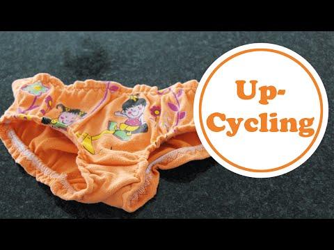 Slip nähen aus altem T-Shirt nicht nur für Kinder   Upcycling