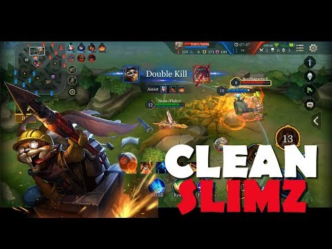 SLIMZ SO STRONG AFTER BUFF! | CLEAN GAMEPLAY | Arena of Valor