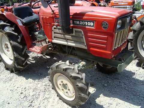 Used Japanese Yanmar Tractors - YouTube
